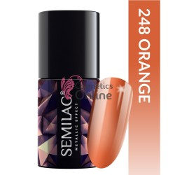 Top Coat Semilac Metalic Effect 248 Orange 7ml